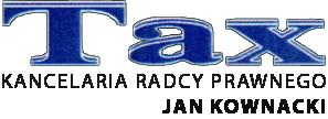 Tax - Kancelaria Radcy Prawnego Jan Kownacki